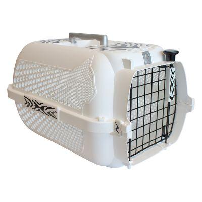 Voyageur White Tiger Pet Carrier - White