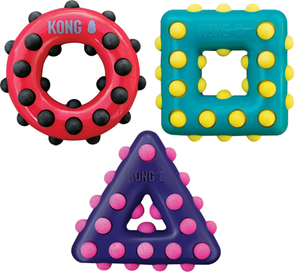 ***OUT OF STOCK *** Kong Dotz triangle