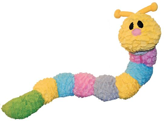 OUT OF STOCK Patchwork Pet Pastel Caterpillar 35 Inch