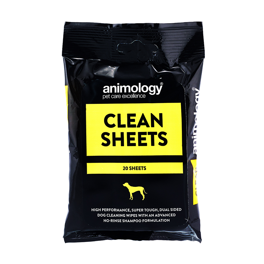 Clean Sheets Dog Wipes (20)